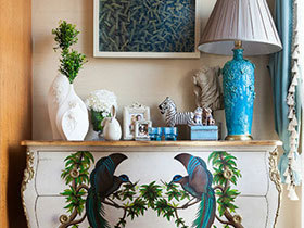 墙壁上的风情 11款玄关装饰画背景墙