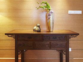 第一眼的木色清风 13款木质玄关背景墙