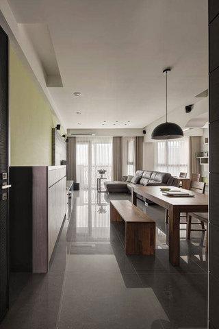 现代简约风格三居室时尚120平米装修效果图