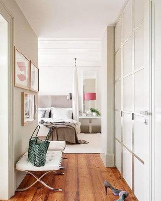 单身公寓小清新玄关设计