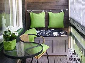 沐浴清新自然风 13款木质阳台设计