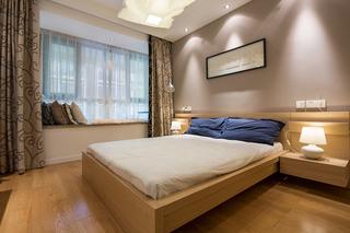 现代简约风格三居室15-20万120平米效果图