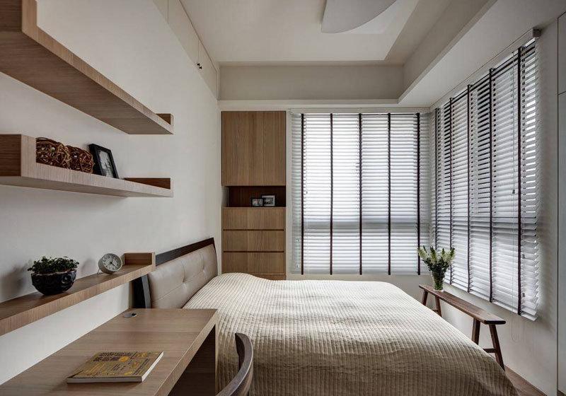 20万以上130平米简约三居室装修效果图,现代简约132平3房2厅装修高清图片