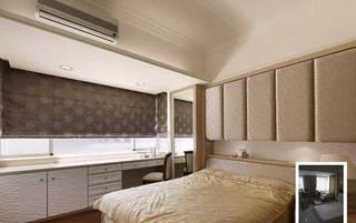 欧式温馨卧室设计效果图
