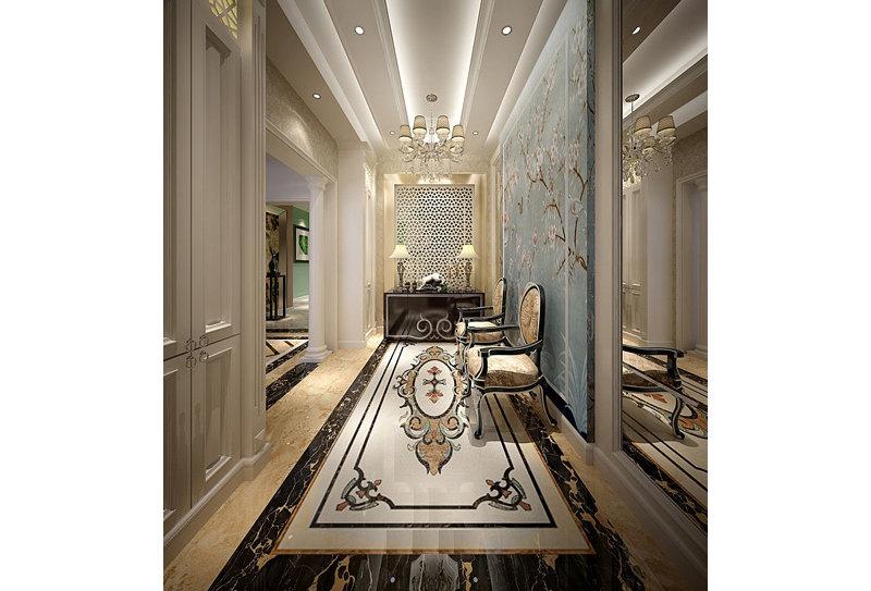 法式风格别墅效果图图片