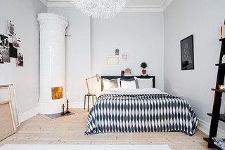北欧风格卧室地板设计
