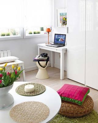 宜家风格一居室40平米装修效果图