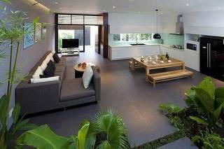 现代简约风格别墅小清新设计图