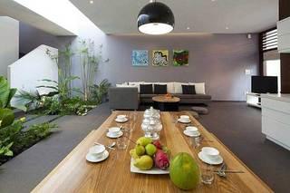 现代简约别墅客厅设计效果图