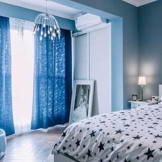 简约清新卧室设计效果