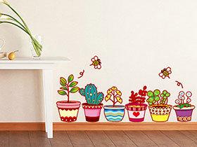 打造家装可爱风 15款童趣墙贴设计