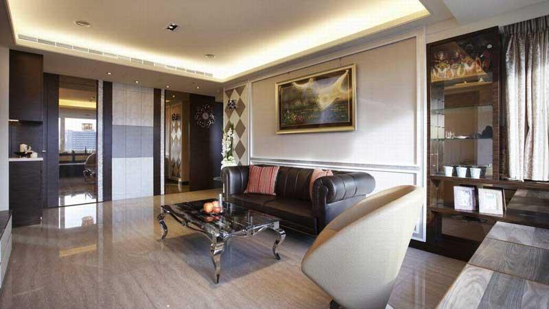 混搭沙发背景墙设计效果图