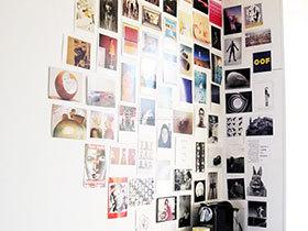 创意卧室照片墙 床头设计新方案