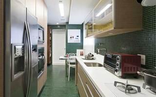 现代简约清新厨房设计效果图