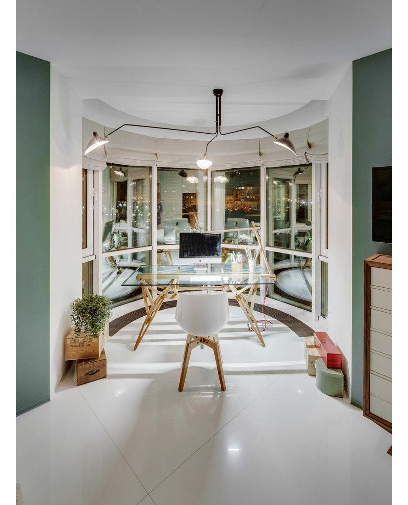 5 10万90平米简约三居室装修效果图,现代小清新装修案例效果图 齐高清图片