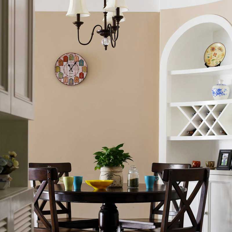美式风格三居室90平米效果图
