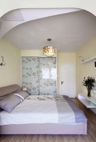 田园温馨卧室设计效果图
