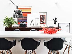 6款绿植摆台设计 打造清新用餐环境