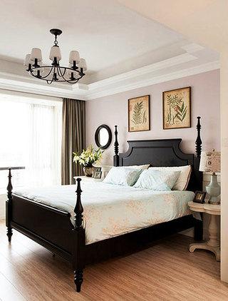 欧式卧室床头绿植
