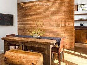 11个木质餐厅桌椅 尽显自然魅力