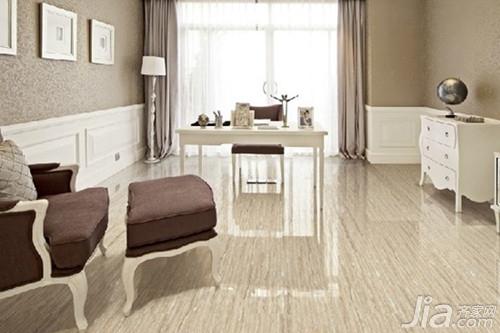 正文  第一款:仿古色地砖 其实如果想知道客厅地板砖什么颜色好,主要