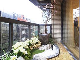开放式阳台绿植 让绿色住进家