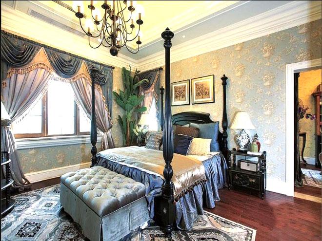 大气美式风格卧室设计