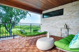 绿色大户型露台设计