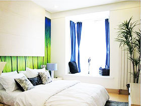 卧室空间巧布置 绿植装点妙空间