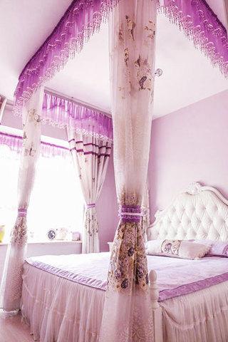 粉色系卧室设计