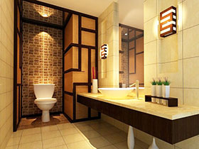 魅力东方美 12个中式风格卫浴间设计