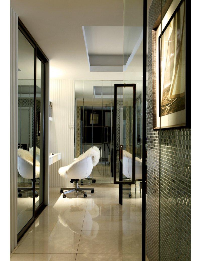 5 10万90平米简约三居室装修效果图,保利爱尚里装修案例效果图 齐高清图片