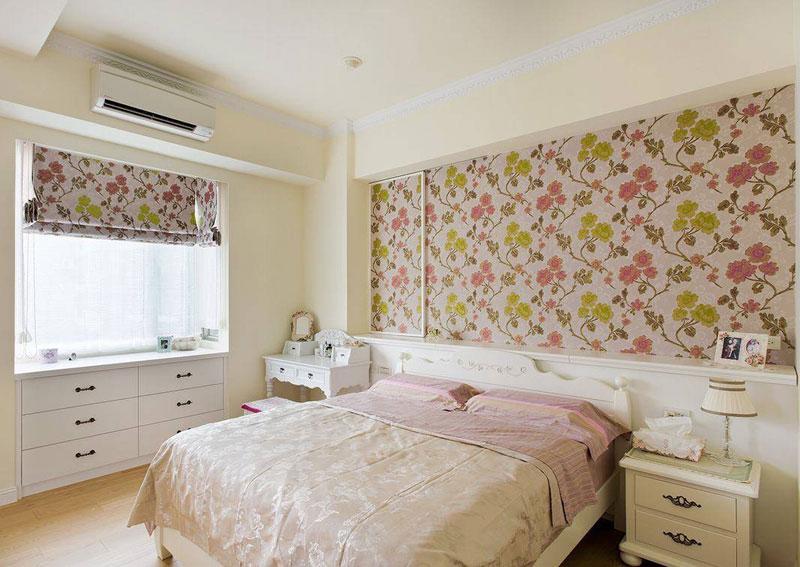 田园卧室设计效果图