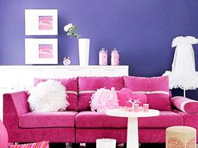 神秘紫色 12款紫色空间设计