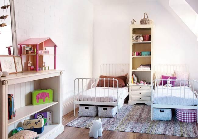 儿童房儿童床效果图