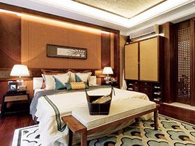精致古朴东南亚风情 卧室效果图欣赏