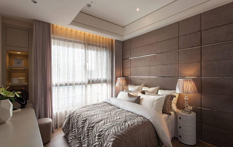 欧式古典卧室设计效果图