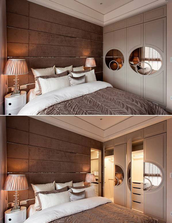 欧式风格三居室90平米效果图