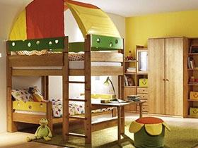 兒童房又有新創意 10個兒童房創意高矮床