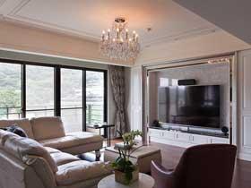 简约新古典设计 很有品味的三居室装修