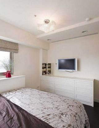 现代简约风格三居室温馨90平米设计图纸
