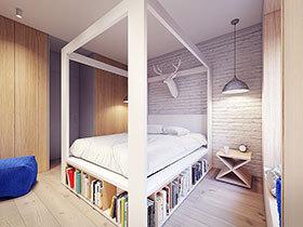 11款架子床设计 布置舒适睡觉空间