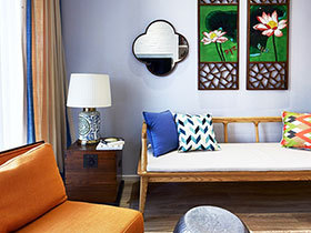 新中式客厅沙发 11款创意设计