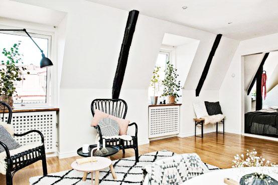 北欧小户型创意墙面设计