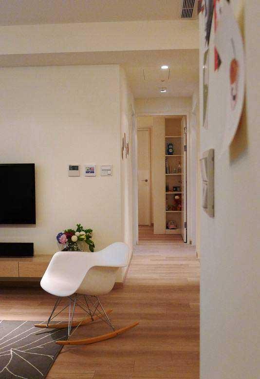 混搭风格三居室130平米效果图