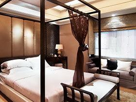 中式风格卧室床 10图大气卧室必备