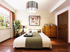 中式臥室床品 12款大氣軟裝推薦