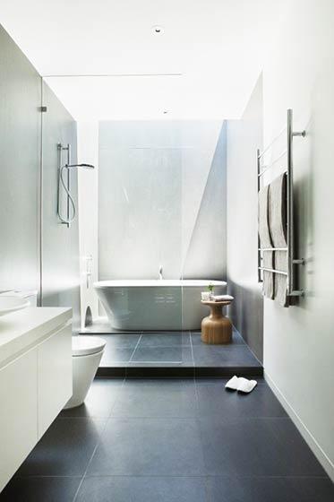 开放式简洁卫生间图片