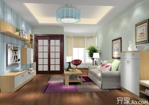 90平米房屋装修案例 装出不一样的效果