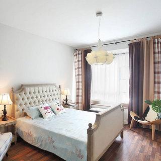 地中海清新卧室设计效果图